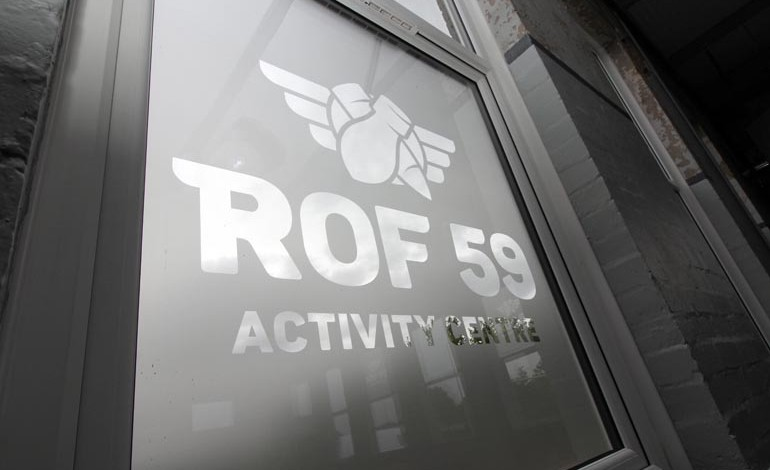 PICTURES: ROF 59 in progress