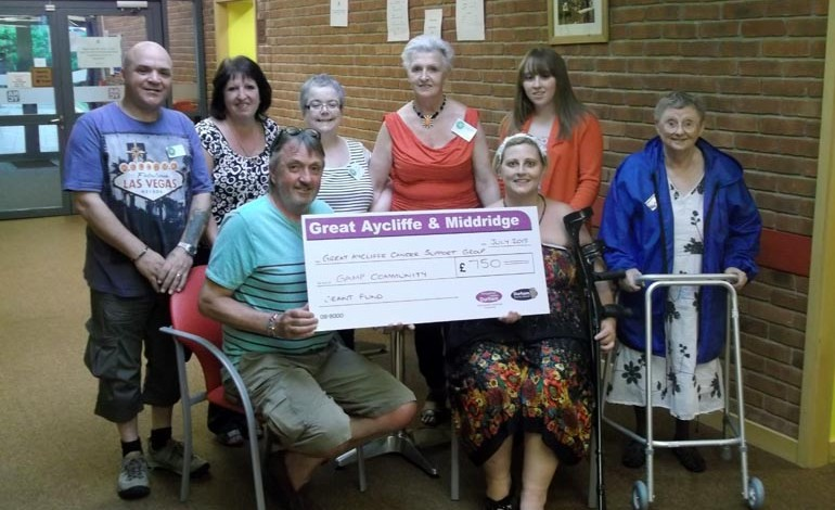 Funding success for Aycliffe support group