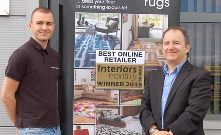 Award for Aycliffe rug firm