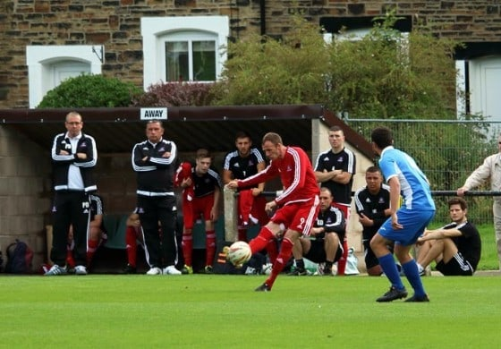 Aycliffe sink Nelson in FA Cup