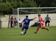 Aycliffe off to flyer with win over champions