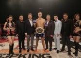 Local Thai boxer wins world title