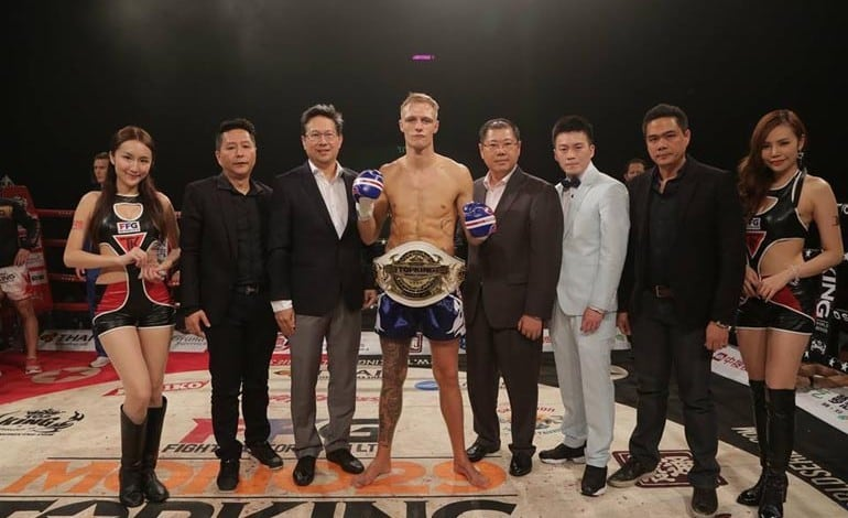 Local Thai boxer wins world title