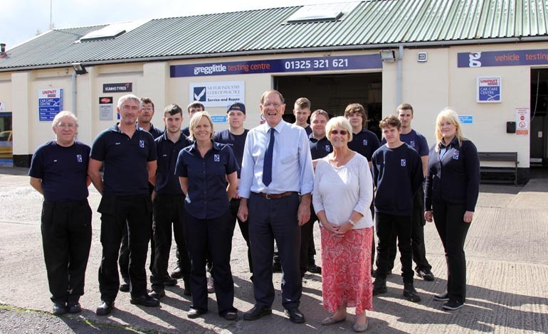 G Force gives family garage a new look
