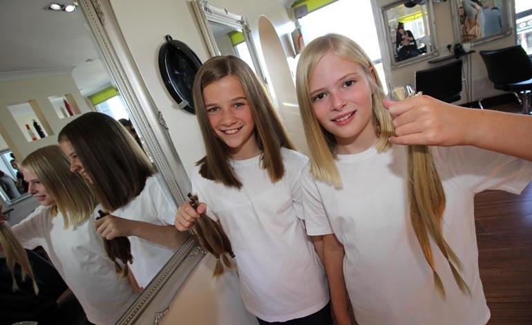 Best friends raise enough cash for three wigs