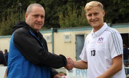 McColl's donate £150 to football club