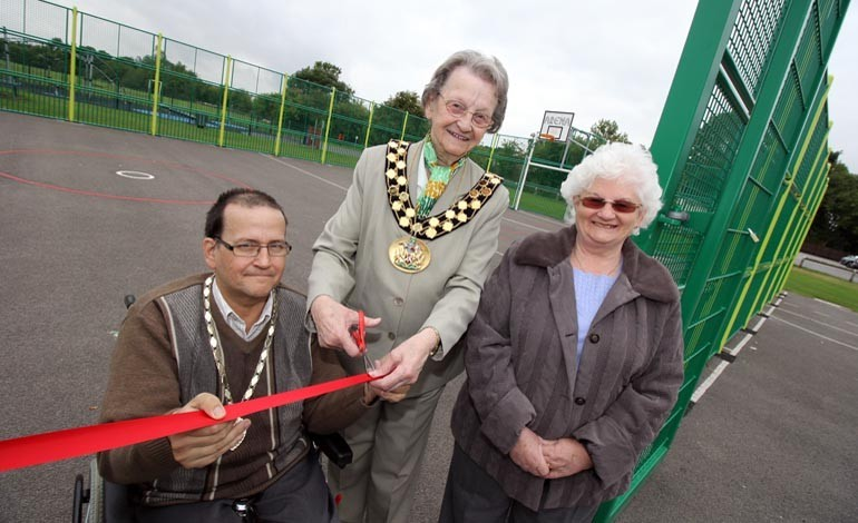 Shafto House cash helps to fund new Moore Lane MUGA