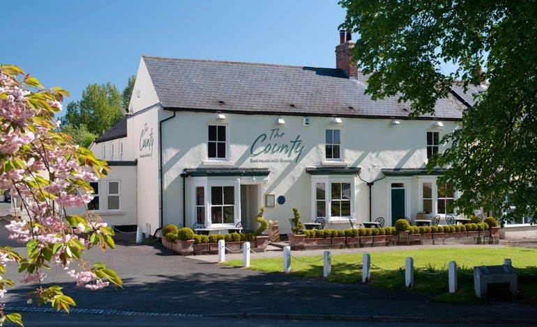 The County rooms get £25k boutique boost
