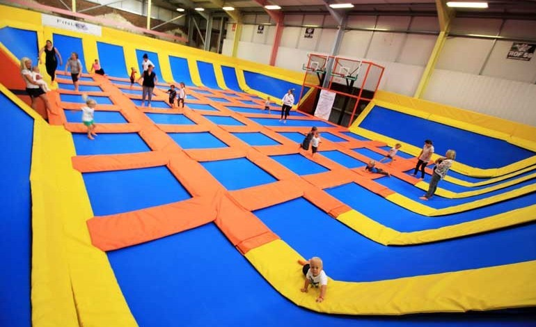 Trampoline park opens at ROF 59 on Aycliffe Business Park