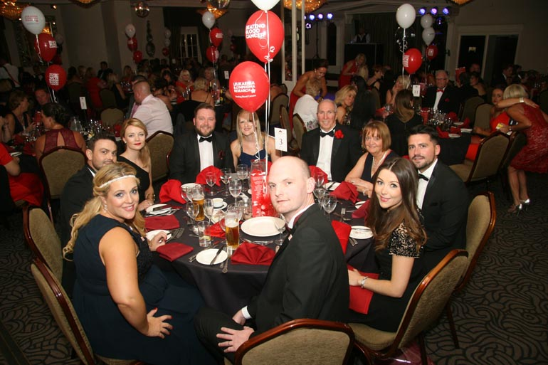 Charity ball for Bloodwise 2 - Pic by Karl Utley & Jason Allison Photography