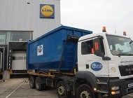 Hartlepool recycling firm on hand at Lidl's Aycliffe centre