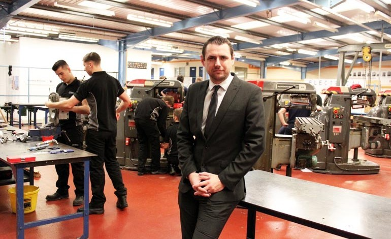 Former apprentice returns as Chief Exec of Aycliffe training provider