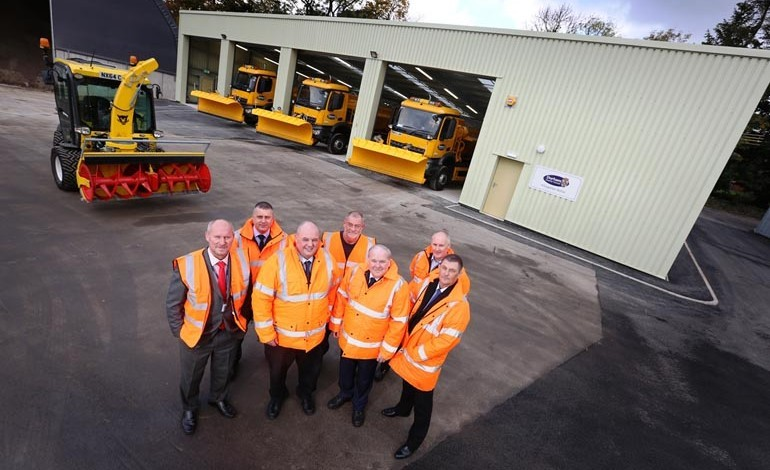 New depot ready as part of winter preparations