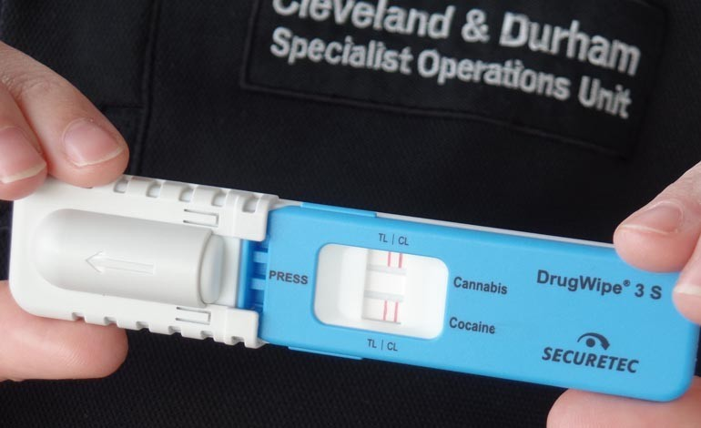 how to pass a roadside drug swab test