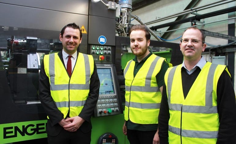 Plastics firm's first ever apprentice fits the mould