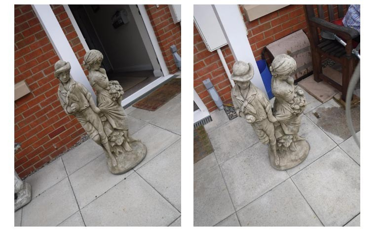 Police appeal after garden statues stolen