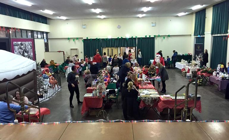 Christmas fair brings festive cheer to Woodham Academy