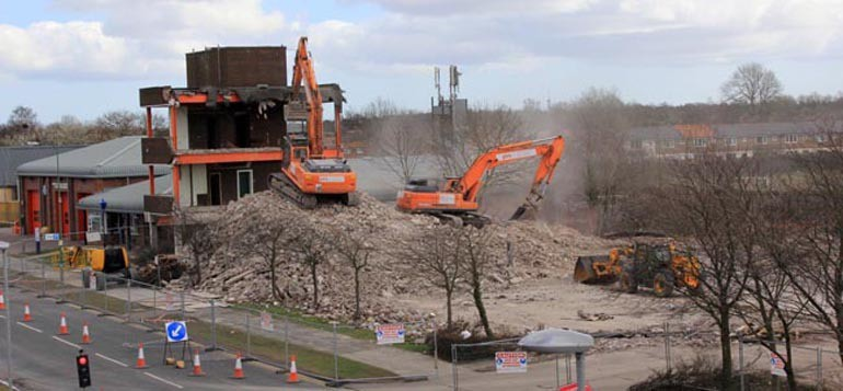 aycliffe-police-station-demolition