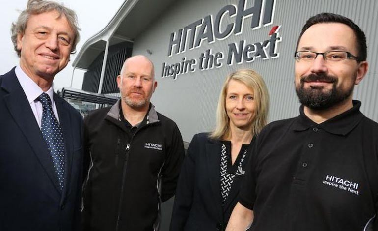 Hitachi appoints Sunderland firm as cleaners