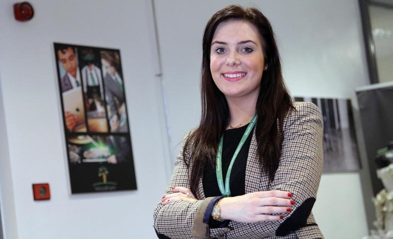 Marketing graduate takes up new role at Woodham Academy