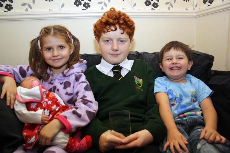 Conor Radford Brave Heart Award 3