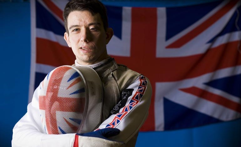 Paralympian fencer visits students at Greenfield