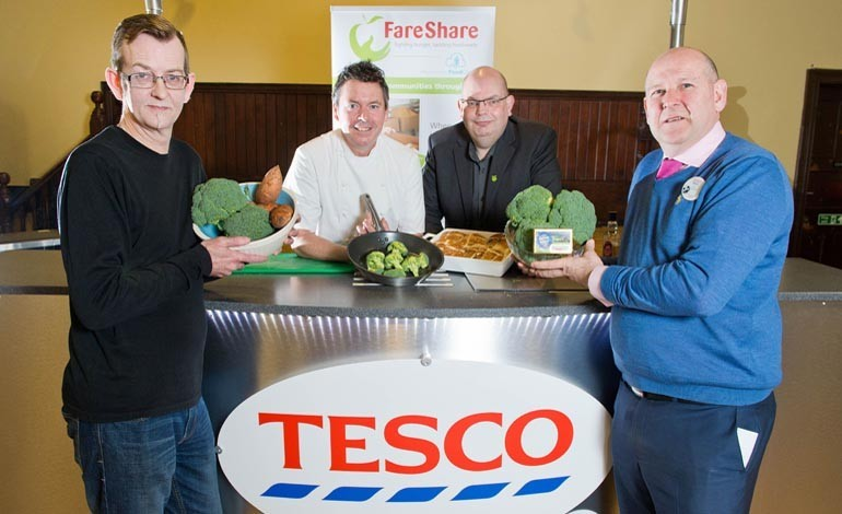 Tesco launches food donation scheme in North East