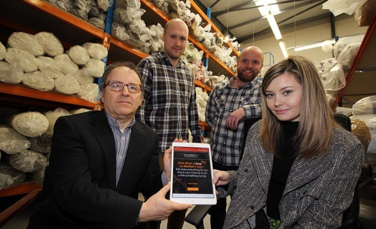 Online retailer thriving thanks to local marketing support