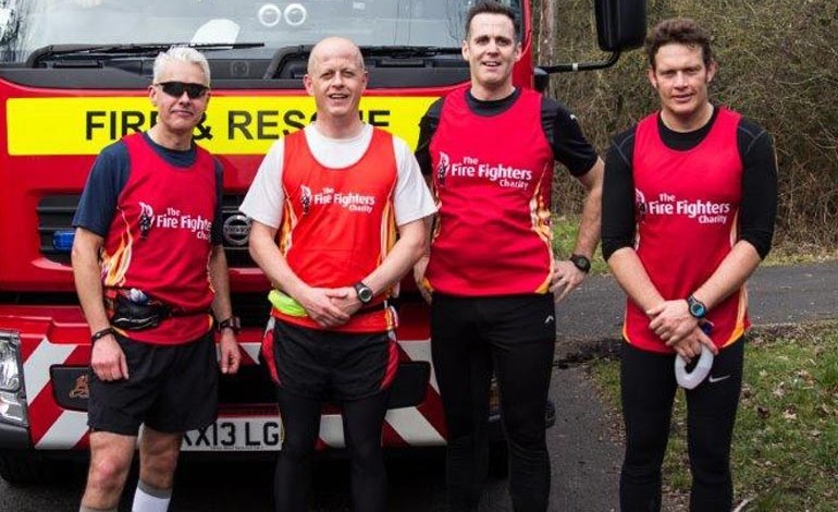 Aycliffe fire officer runs 48 miles in a day