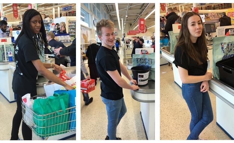 Bag-pack raises £353 for Morocco trip