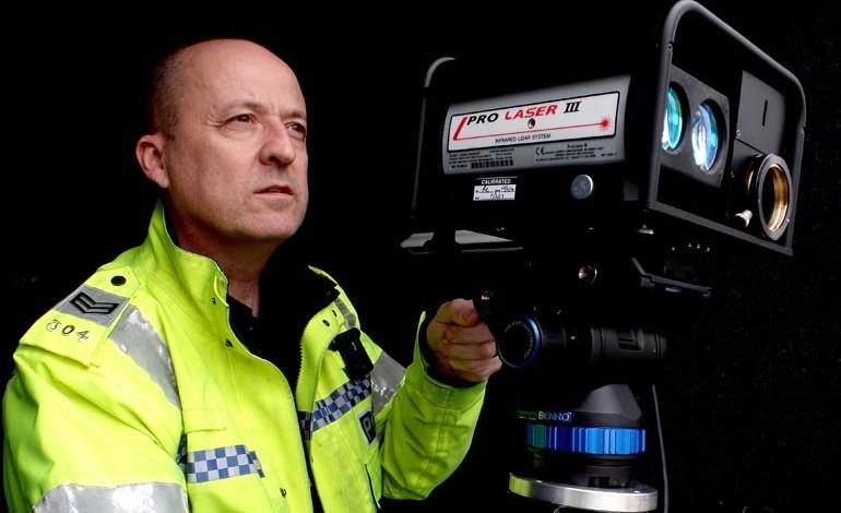 Speeding drivers beware the 'Eye at Night'
