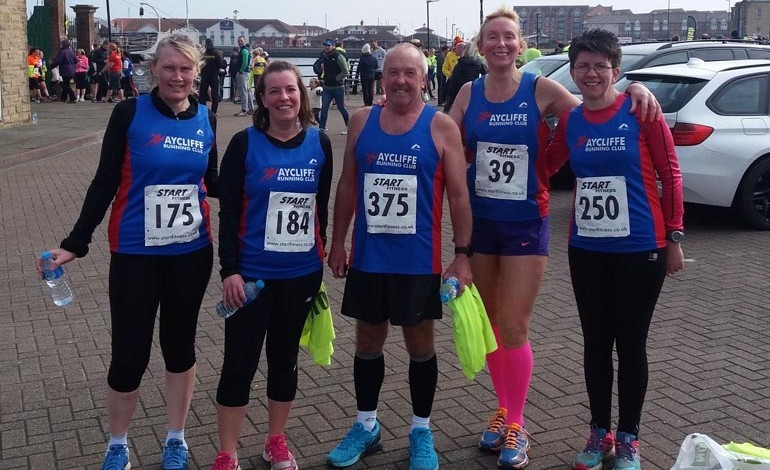 Aycliffe Club runners smash PBs in Hartlepool