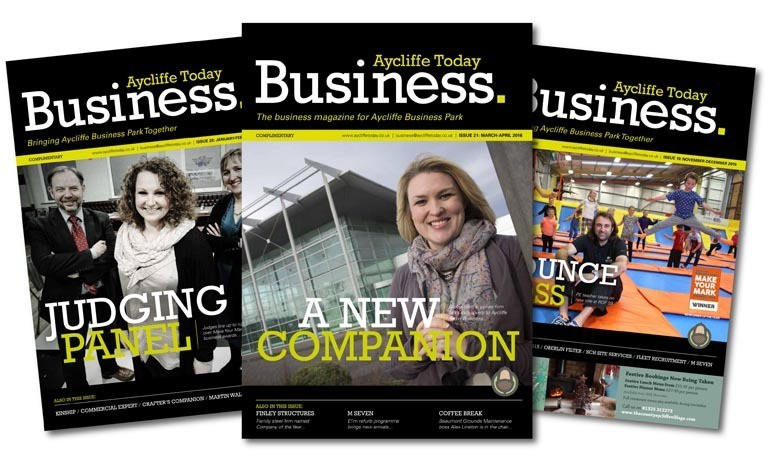 Last chance to secure space in Aycliffe's only business magazine!