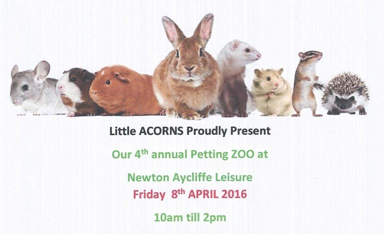 Little ACORNS host 4th annual Petting Zoo event this week