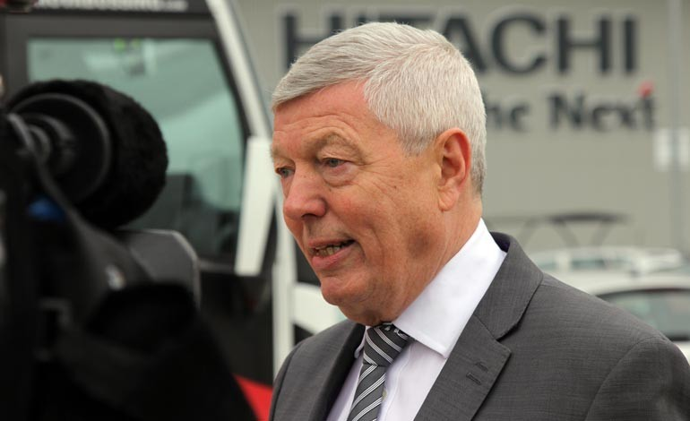 Brexit is a one-way ticket to 'bleak future' – says Alan Johnson during Hitachi visit
