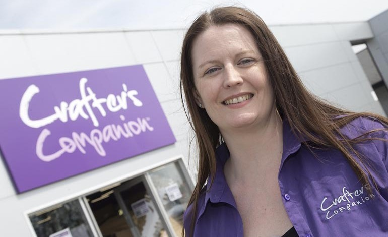Crafter's Companion appoints Aycliffe store manager