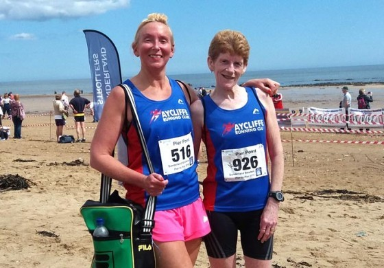 Aycliffe Runners compete in Lord Stones Café and Pier to Pier races