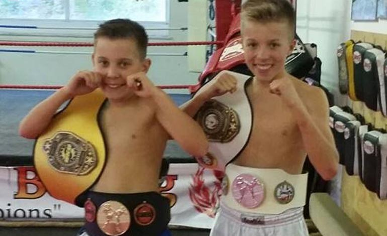 Success for Thai boxing brothers