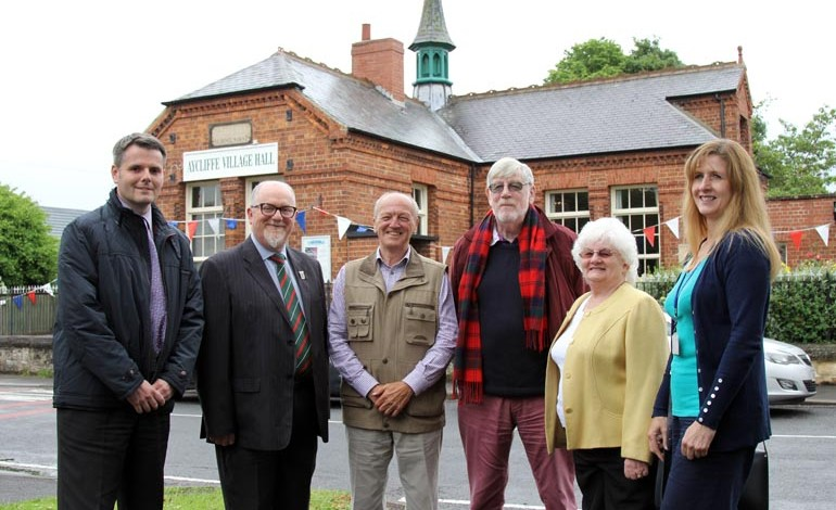 Aycliffe Village Hall gets £20k refurb