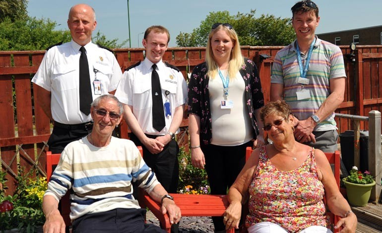 Aycliffe family benefits from life-changing visits
