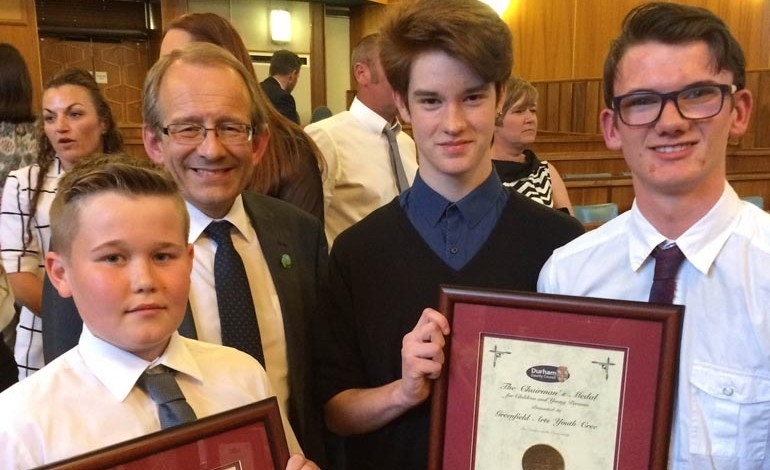 Greenfield students prove worthy recipients of Chairman's Medal