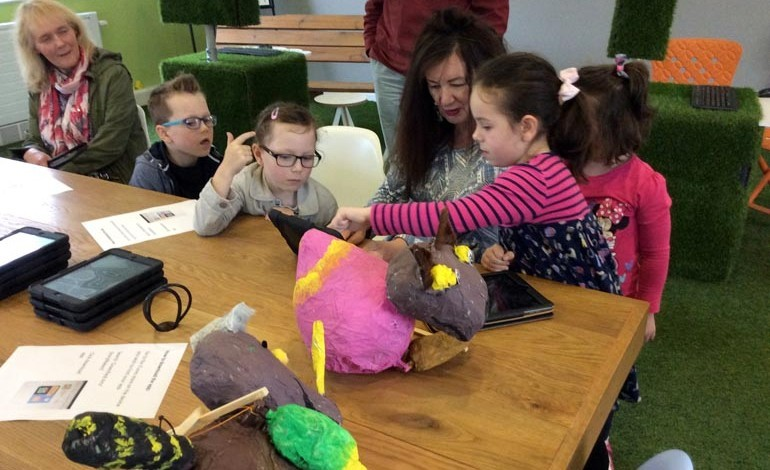 Story making and family fun at Greenfield Arts
