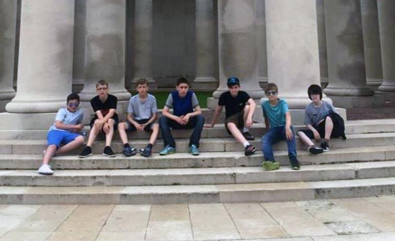 Aycliffe students enjoy France trip