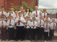Aycliffe Juniors presentation night