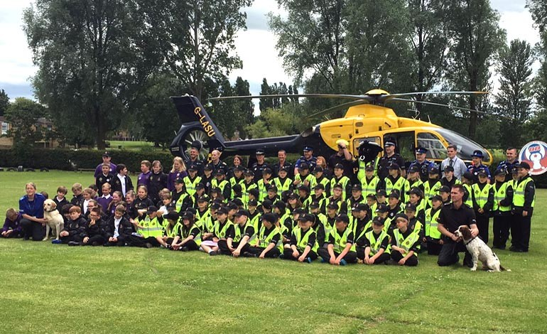 Aycliffe Mini Police project is launched