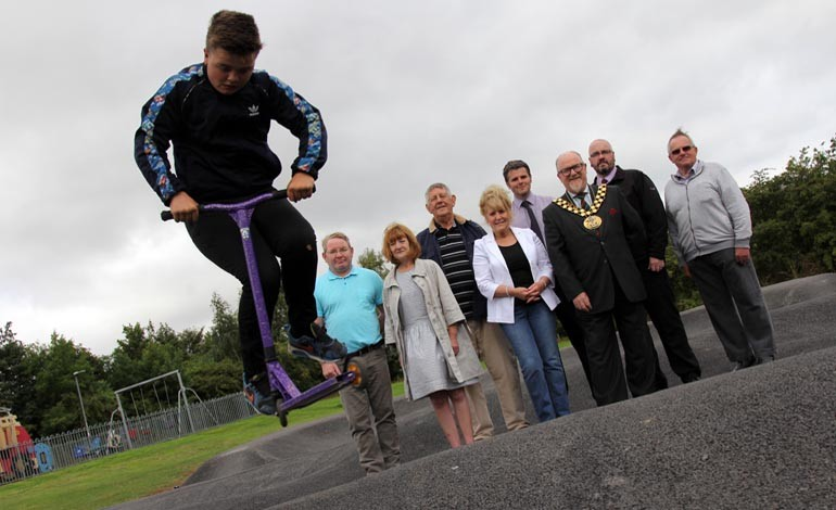 Horndale Scoot Park is officially opened