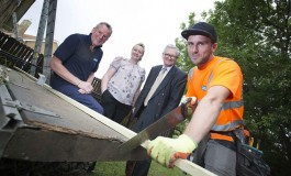 Charity's free roof make-over from Aycliffe firm
