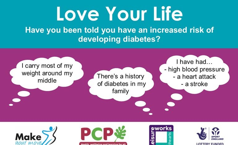 Free diabetes workshop in Newton Aycliffe