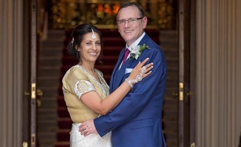 MP ties the knot at Westminster