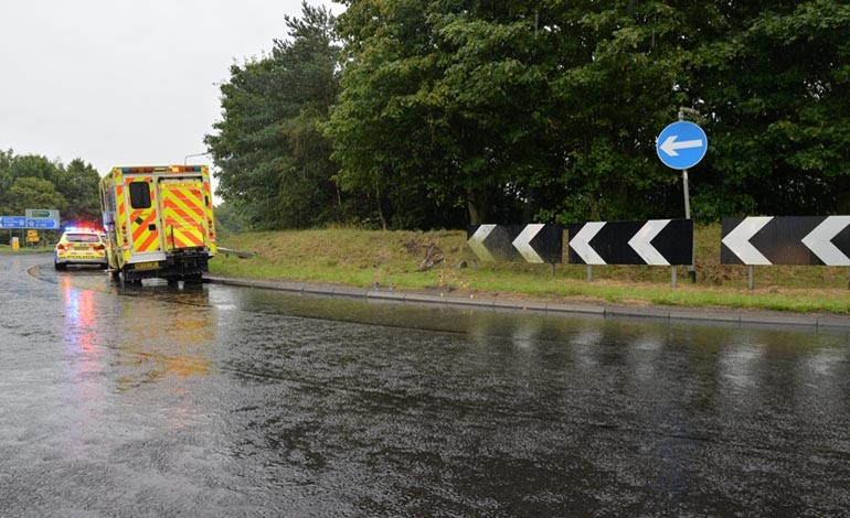 Motorist dies after Burtree accident